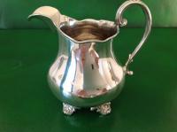 Antique Victorian Silver Jug - 1851