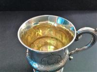 Antique Early Victorian Silver Christening Cup - 1840 (2 of 6)