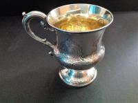 Antique Early Victorian Silver Christening Cup - 1840 (3 of 6)