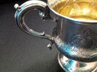 Antique Early Victorian Silver Christening Cup - 1840 (4 of 6)