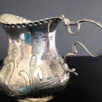 Hester Bateman Antique Georgian Silver Creamer - 1781 (4 of 6)