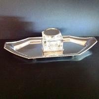 Superb Hallmarked Silver Inkstand - 1929