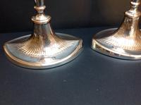 Pair of Antique Old Sheffield Plate Candlesticks c.1790 (4 of 6)