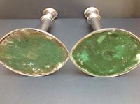 Pair of Antique Old Sheffield Plate Candlesticks c.1790 (2 of 6)
