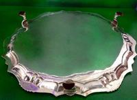 Antique Georgian Silver Salver - Heming (4 of 6)
