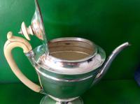 Elegant Antique Georgian Silver Coffee Pot - Emes 1801 (5 of 6)