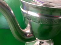 Elegant Antique Georgian Silver Coffee Pot - Emes 1801 (3 of 6)