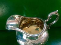 Antique Victorian Silver Gilded Jug -1845 (6 of 7)