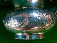 Antique Victorian Silver Gilded Jug -1845 (3 of 7)