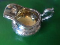 Antique Victorian Silver Gilded Jug -1845 (4 of 7)