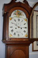 Late 18th Century George III John Cook of Whitchurch Hants 8 Day Grandfather Longcase Clock (2 of 10)