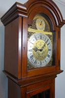 Good Quality Early 20th Century Astragal Glazed Triple Weight Mahogany Grandfather Longcase Clock (2 of 7)
