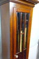 Good Quality Early 20th Century Astragal Glazed Triple Weight Mahogany Grandfather Longcase Clock (3 of 7)