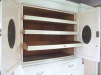 Painted Linen Press Compactum (6 of 8)