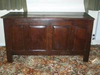 Antique Large Oak Coffer