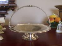 Victorian Silver Plated Cake Stand or Dish (4 of 11)