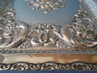 Antique Solid Silver Dressing Table Tray 1911 (5 of 5)