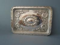 Antique Solid Silver Dressing Table Tray 1911 (4 of 5)