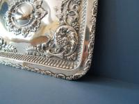 Antique Solid Silver Dressing Table Tray 1911 (3 of 5)