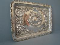 Antique Solid Silver Dressing Table Tray 1911 (2 of 5)