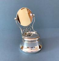 Antique Edwardian Silver Novelty Jewellery Box (2 of 6)
