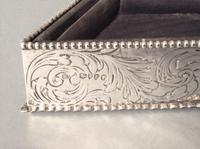 Antique Victorian Silver Jewellery Tray - Comyns (4 of 7)