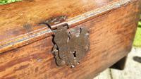 Small 17th Century Oak Coffer (5 of 6)