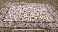 Large Room Size, Signed Antique Persian Tabriz Carpet C1930 (2 of 7)