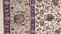 Large Room Size, Signed Antique Persian Tabriz Carpet C1930 (3 of 7)