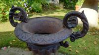 19th Century French Cast-Iron Urns (2 of 7)