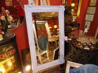 Large Victorian Rectangular Mirror c.1860