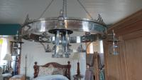 Pair of Arts & Crafts Style Chandeliers, Early 20th Century (18 of 18)