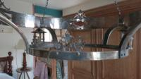 Pair of Arts & Crafts Style Chandeliers, Early 20th Century (9 of 18)