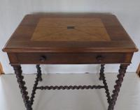 Rosewood Inlaid Side Table c.1850 (2 of 19)