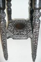 Decorative Carved Side Table c.1900 (2 of 6)