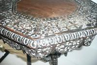 Decorative Carved Side Table c.1900 (4 of 6)