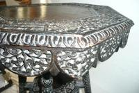 Decorative Carved Side Table c.1900 (6 of 6)