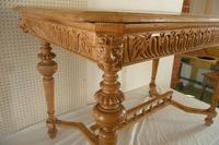 Carved Pine Centre Table c.1880 (6 of 6)