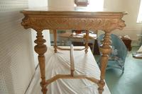 Carved Pine Centre Table c.1880 (5 of 6)
