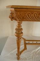Carved Pine Centre Table c.1880 (4 of 6)