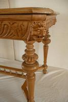 Carved Pine Centre Table c.1880 (3 of 6)