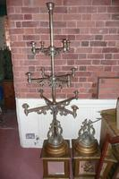 Pair of Very Large Candelabra (Late 19C.) (2 of 8)