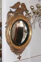 Regency Convex Gilt Eagle Mirror C.1820