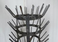 French Revolving Bottle Drying Rack Late 19th Century (9 of 14)