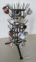 French Revolving Bottle Drying Rack Late 19th Century (4 of 14)