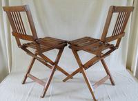 """A Pair of """"Brevetti Reguitti """" Chairs  C.1950 (21 of 21)"""