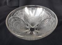 Very Rare Large Clear Glass Rene Lalique Coquilles Bowl