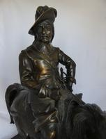Stunning Antique Bronze of a Mounted Cavalier (7 of 11)