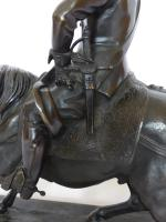 Stunning Antique Bronze of a Mounted Cavalier (10 of 11)