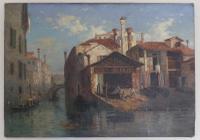 Stunning 19th Century Venetian Scene, Oil On Canvas by Thomas Pyne (5 of 8)